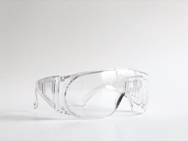 【福利品】安全護目鏡_台灣製_防飛沫、不起霧、抗UV、遮風、擋雨 1