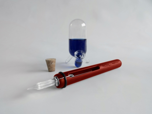 GeckoDesign 和諧之筆 x 默契墨水瓶(長) 手工製文具組 3